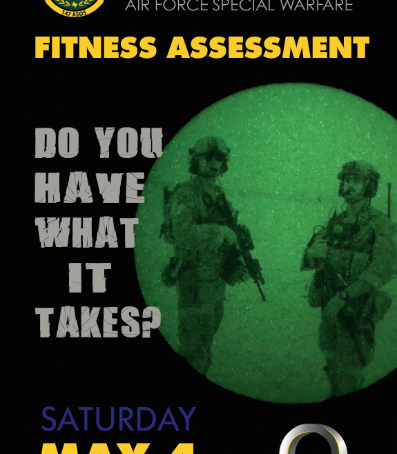 Air Force Special Warfare Fitness Challenge